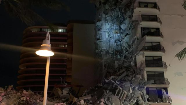 Во Флориде число жертв в результате обрушения дома выросло до 78