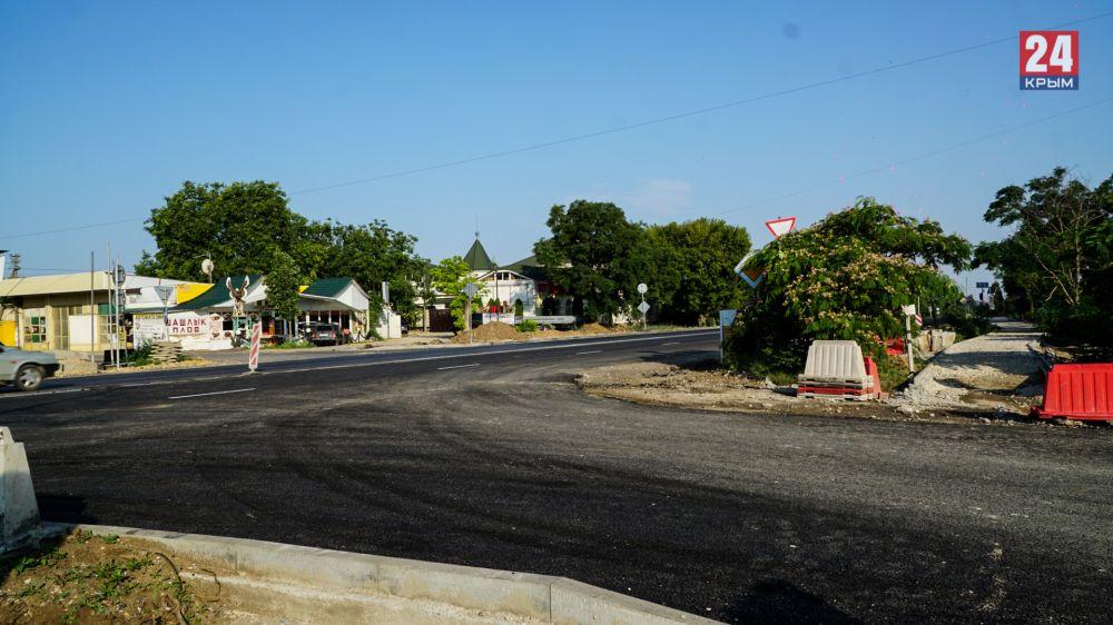 Новый участок четырёхполосной дороги в Саках не до конца решил проблему с пробками до Евпатории