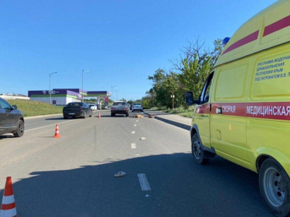 МВД выясняет подробности аварии в Симферополе, в которой погибла женщина