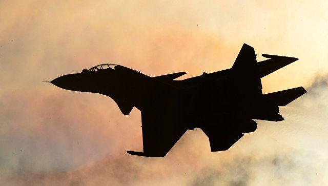 Истребители РФ сопроводили самолеты-разведчики США над Черным морем