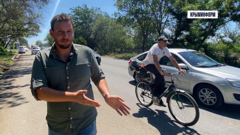 Саки - узкое горлышко на дороге в Евпаторию. Как победить пробку?