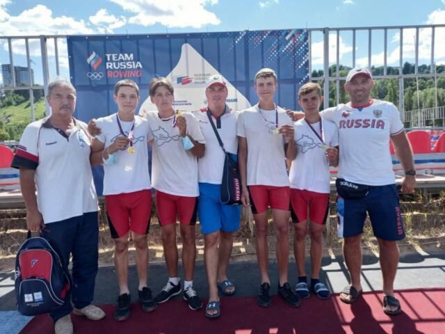 Крымчане выиграли первенство страны по гребному спорту