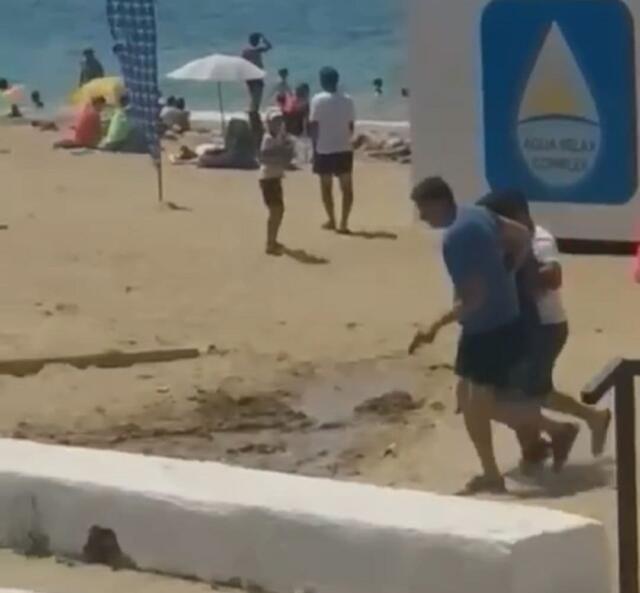 Трое мужчин в шутку похитили человека с пляжа в Учкуевке