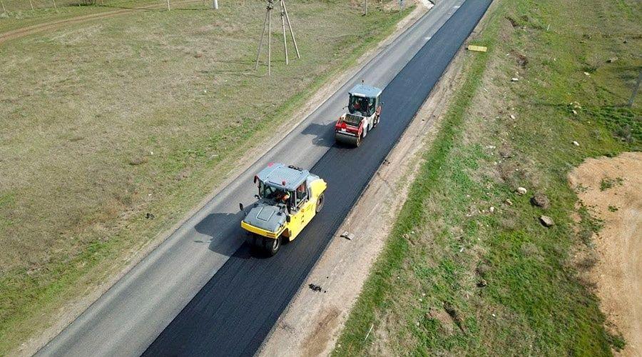 Компания «ВАД» отремонтировала 140 километров дорог в северо-западном Крыму