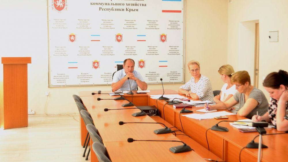 Вопросы расселения граждан из аварийного жилья обсудили в рамках рабочего совещания в министерстве жилищно-коммунального хозяйства