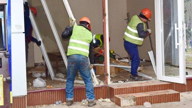 Почти 10% НТО в Симферополе оказались незаконными: мониторинг властей