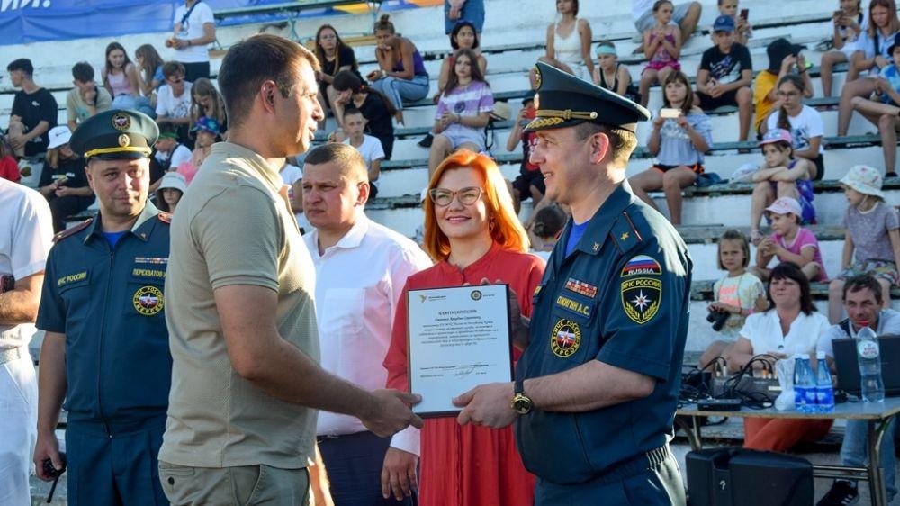 В Евпатории стартовали межрегиональные соревнования «Школа безопасности»