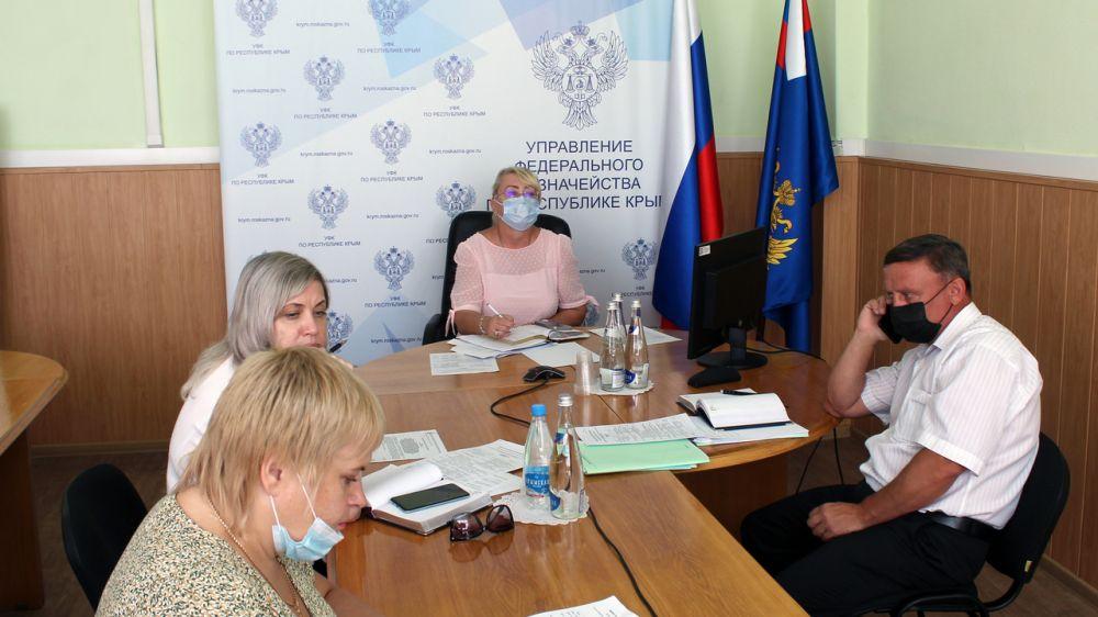 Минфин Крыма принял участие во Всероссийском семинаре по вопросам формирования бюджетной политики в России на 2022-2024 годы