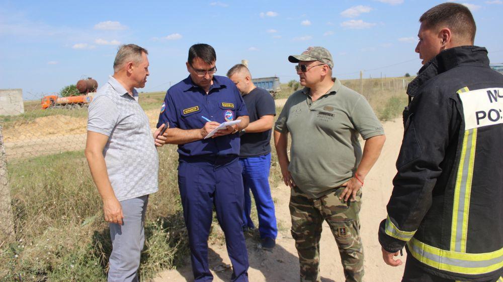 Сергей Садаклиев: Ситуация на полигоне ТБО в Сакском районе находится на контороле Правительства Республики Крым