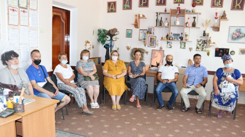 Владислав Хаджиев и Владимир Сабивчак встретились с жителями пгт. Новофёдоровка, сёл Ивановка и Фрунзе