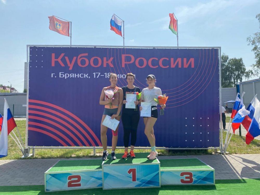 Крымские легкоатлеты выиграли медали Кубка России