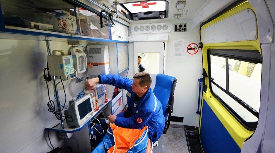 Полтора десятка новых бригад «скорой помощи» сформированы в Республике Крым