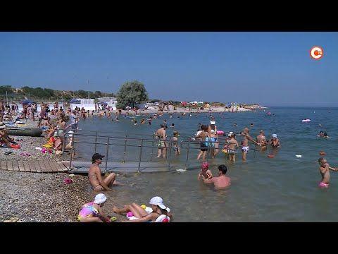 Корреспонденты «Севастопольского телевидения» проверили «Солдатский» пляж (СЮЖЕТ)