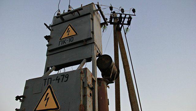 В Крыму из-за перегруза сети происходят аварийные отключения света