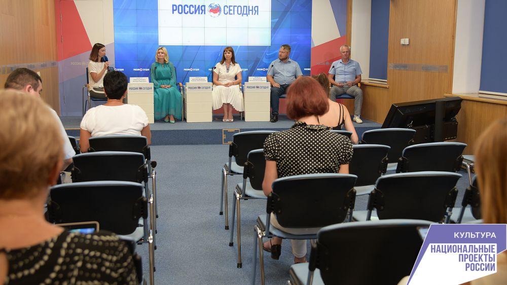 Состоялась пресс-конференция, посвященная реализации в Республике Крым национальных проектов