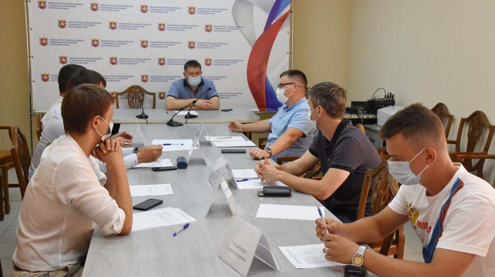Общественный совет при Минимуществе Крыма подвел итоги работы за первое полугодие этого года