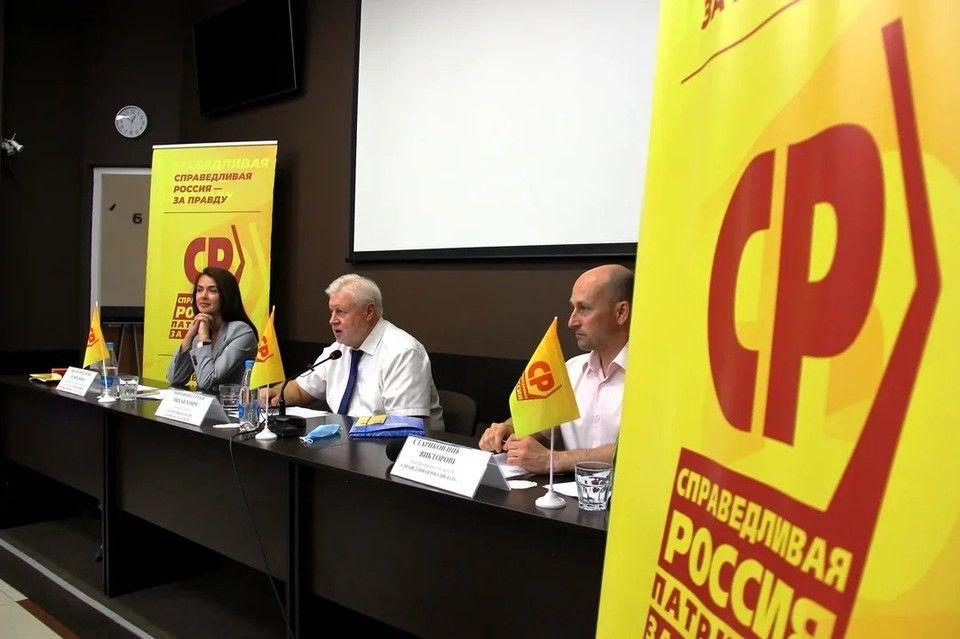 Сергей Миронов в Крыму высказался о сентябрьских выборах: «Жульничать не дадим, за руку поймаем»