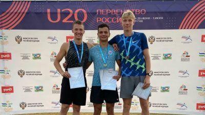 Крымксие легкоатлеты завоевали 3 медали на первенстве России