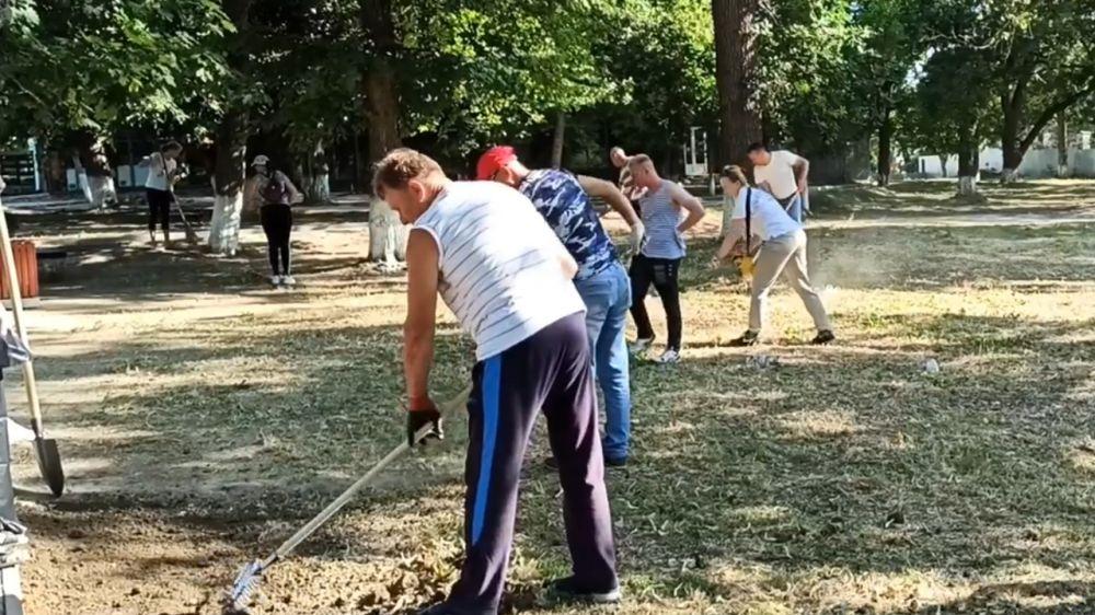 О проведении масштабного субботника в городе Старый Крым