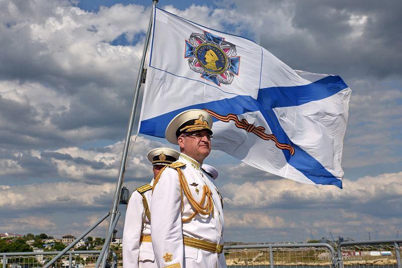 Командующий ЧФ поздравил с Днем Военно-морского флота России