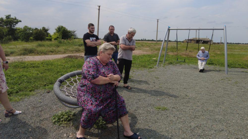 Глава Красногвардейского района Роман Шантаев встретился с жителями с.Новоивановка