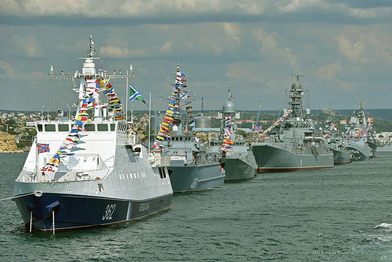 Михаил Развожаев поздравил с Днем Военно-морского флота