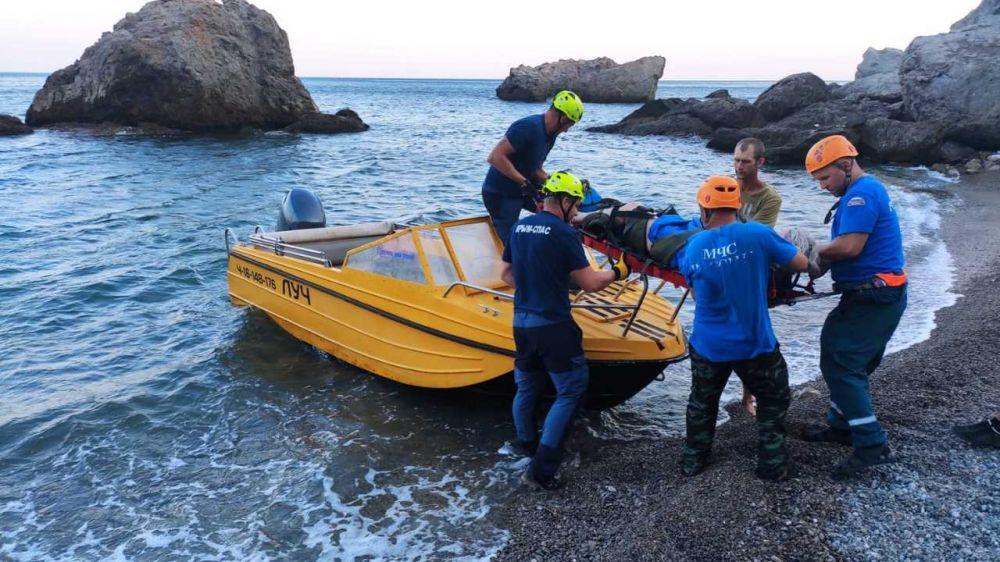 Две поисково-спасательные операции осуществлены Судакским АСО ГКУ РК «КРЫМ-СПАС»