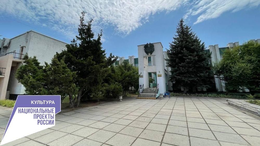 В Евпаторийской детской школе ведутся работы по замене системы отопления