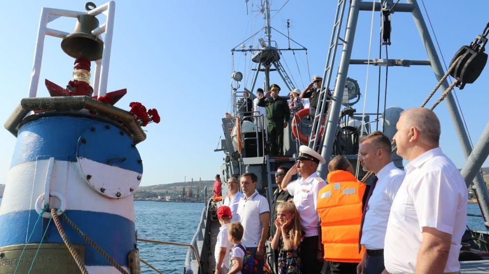 Феодосия отметила День Военно-Морского Флота