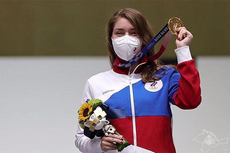 Прапорщик Росгвардии Симферополя завоевала золотую медаль на Олимпиаде в Токио