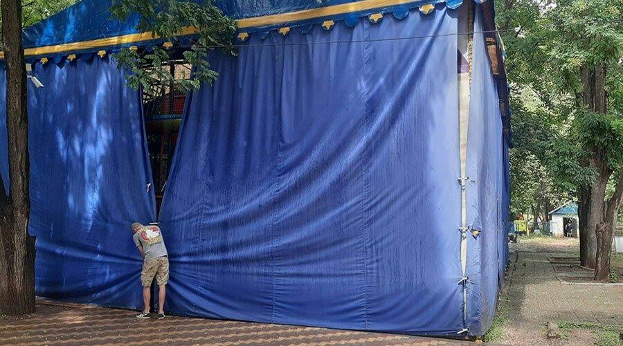 Девочка травмировала позвоночник после падения с батута в симферопольском парке