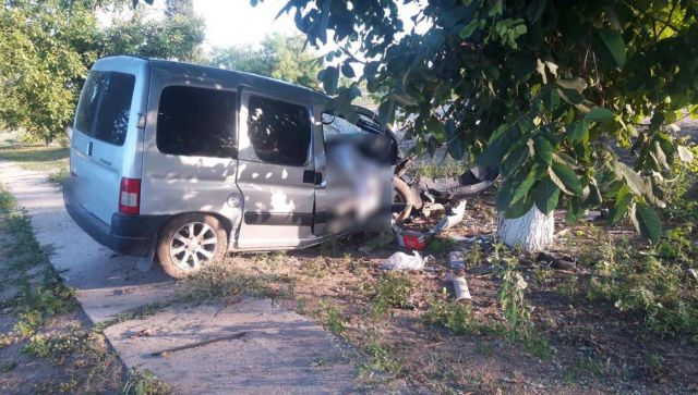 Смертельное ДТП в Джанкойском районе: иномарка влетела в дерево