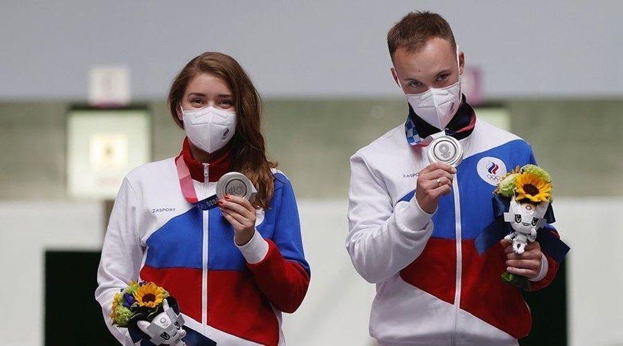 Прапорщик Росгвардии из Симферополя завоевала две медали на Олимпийских играх в Токио