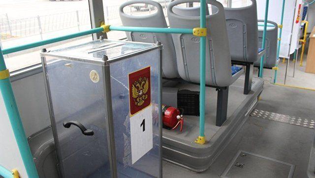 В Симферополе в автобусах создадут резервные пункты для голосования