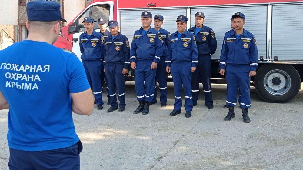 В Сергей Садаклиев: В Первомайском районе введена в боевой расчет новая пожарная часть ГКУ РК «Пожарная охрана Республики Крым»