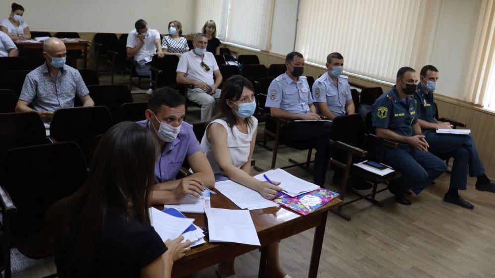 Состоялось заседание Межведомственной рабочей группы по оказанию содействия избирательным комиссиям Сакского района в реализации их полномочий по подготовке выборов