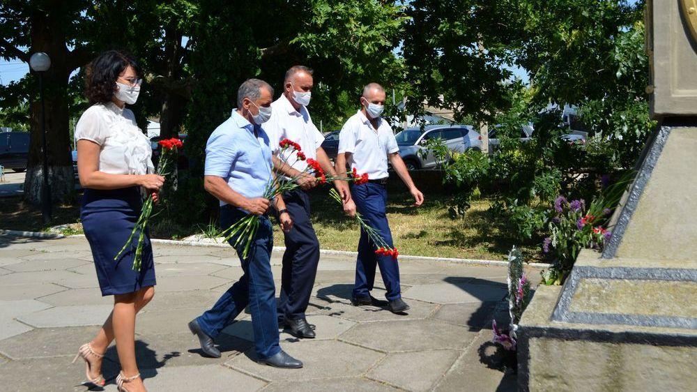 Председатель Государственного совета Республики Крым Владимир Константинов посетил Раздольненский район
