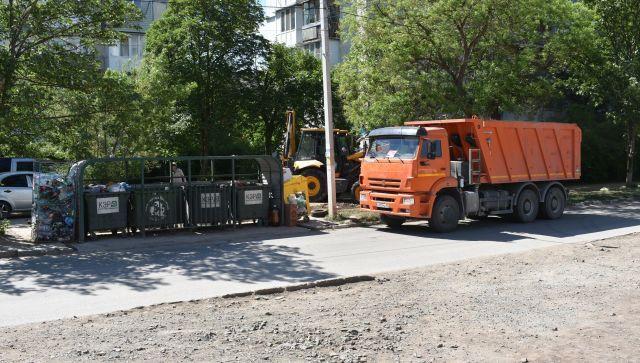 Коммунальщики Симферополя ежедневно убирают до 10 стихийных свалок