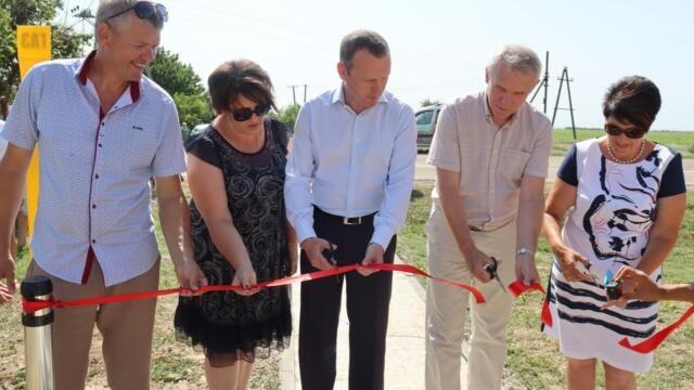 В Кировском районе Крыма газифицировали ещё одно село