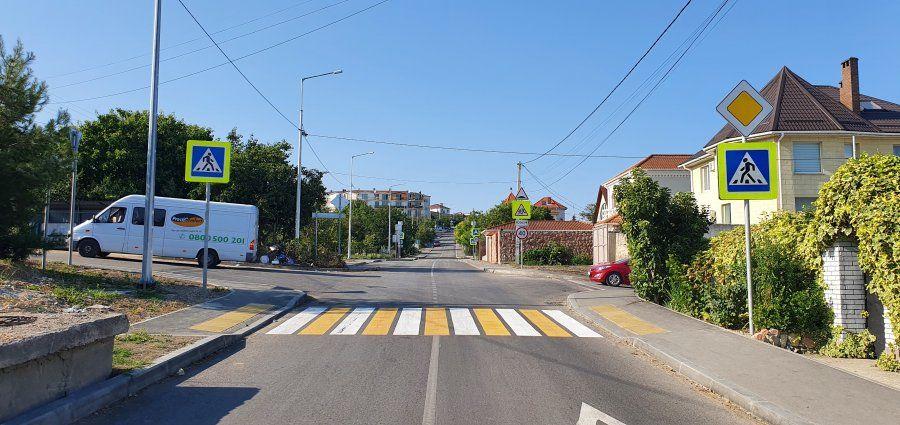 Ремонт на улице Галины Петровой завершился раньше установленного проектом срока