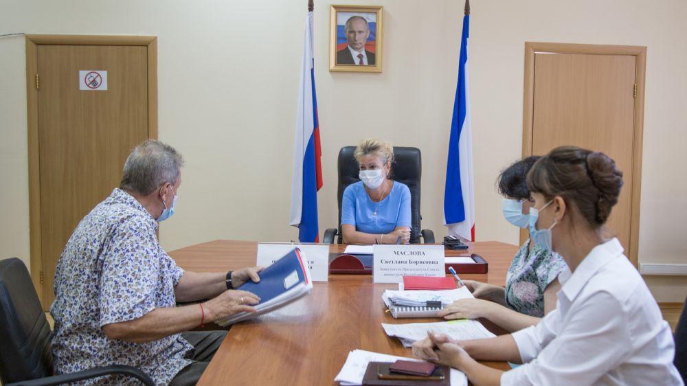 Светлана Маслова провела личный прием граждан