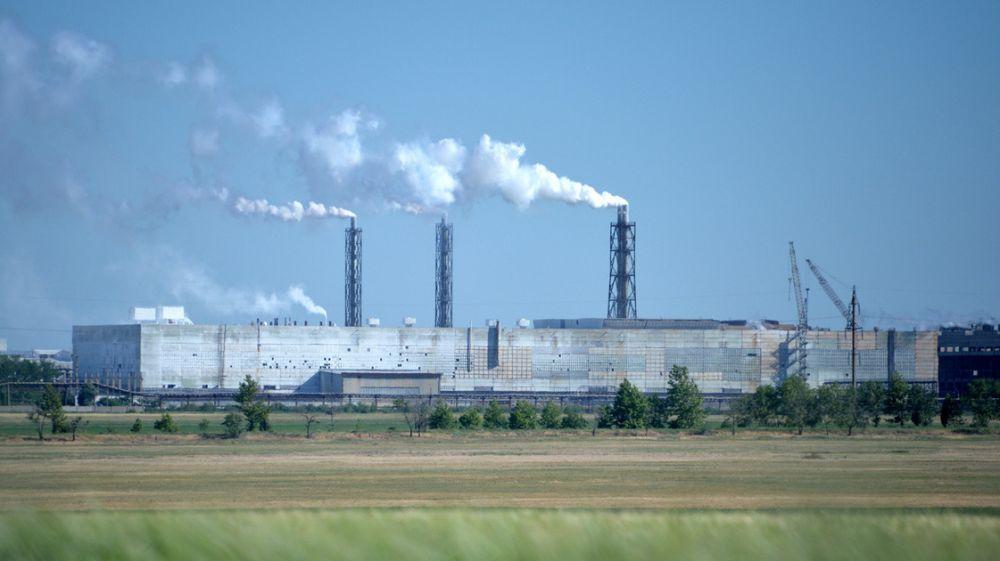 Концентрация хлорида водорода в атмосферном воздухе городского округа Армянск сохраняется ниже предельно допустимой