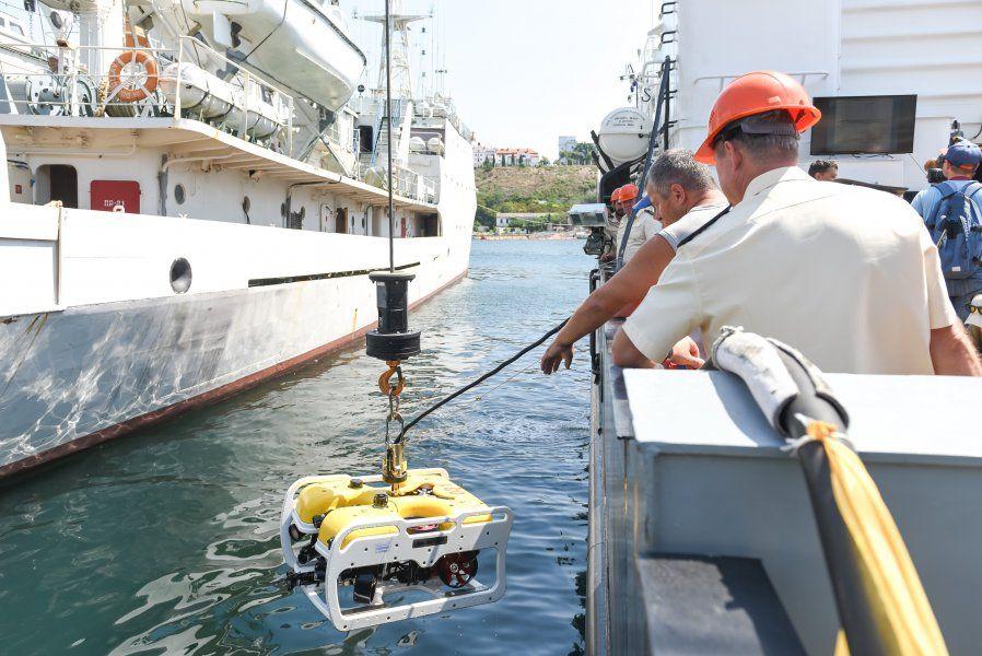 Черноморский флот выделит оборудование для поиска затонувшего судна «Белосток»
