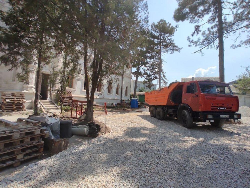 В Симферополе завершается реконструкция кенассы