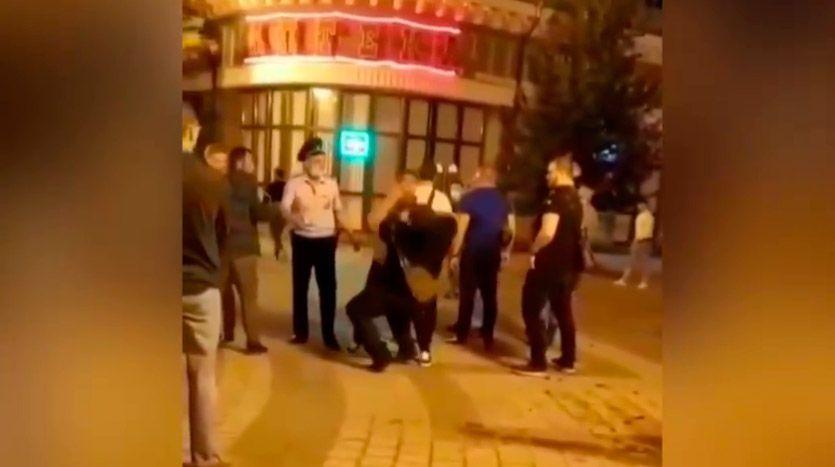 В центре Симферополя произошла массовая драка