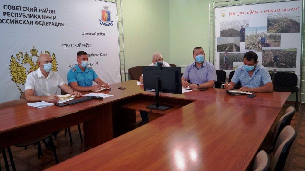 Владимир Трегуб принял участие в Республиканской внеочередной комиссии по предупреждению и ликвидации чрезвычайных ситуаций и обеспечению пожарной безопасности