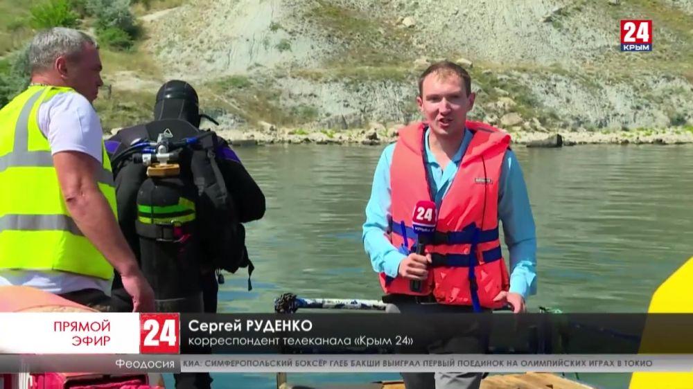 Кто прокладывает трубы на пляже посёлка Приморский?