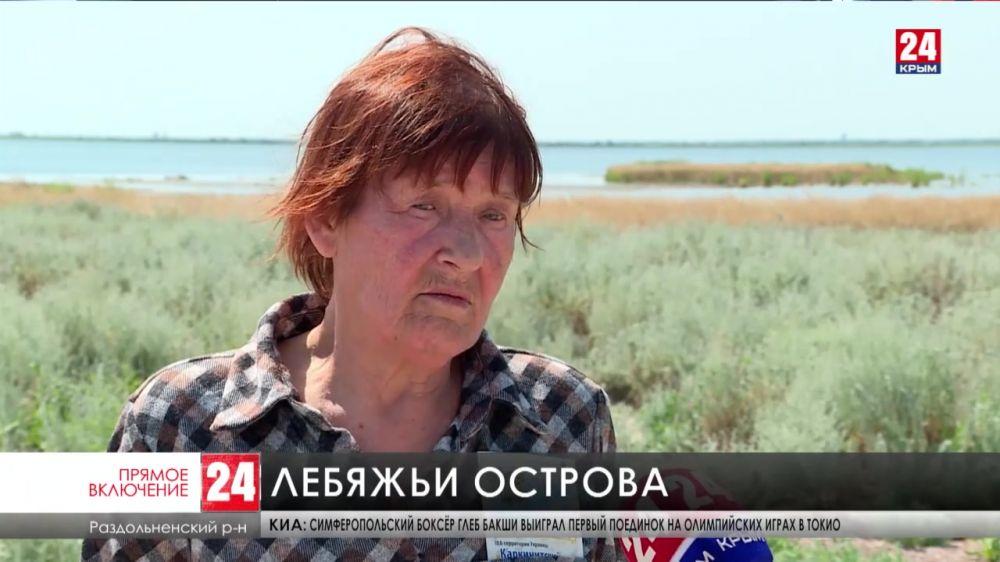 В заповеднике «Лебяжьи острова» на северо-западе Крыма отмечают рост численности птиц