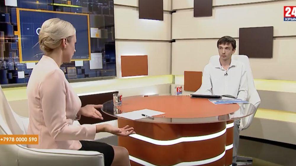 Роман Шантаев в эфире программы Открытая власть на Крым 24