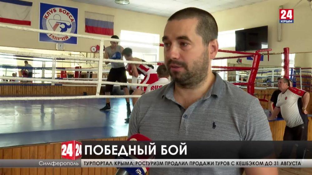 Симферопольский боксёр Глеб Бакши одержал победу в одной восьмой финала Олимпиады в Токио
